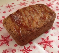 caramel apple sea salt bread