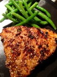 Sunday - Asian Sesame Tuna Steak.